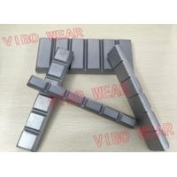 Mining and Dredging Parts / White Iron Laminated Wear Chocky Bars and Blocks