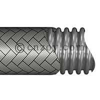 Chinese manufacturer of helical corrugated metal hose with union ends for engine gas applications