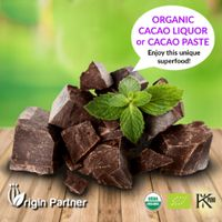 ORGANIC CACAO LIQUOR or CACAO PASTE