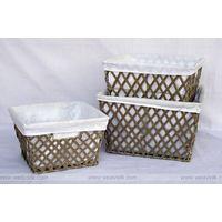 Seagrass baskets 3Pc