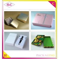 Wholesale Customized cosmetic box , cosmetic paper box with Elegant Design thumbnail image