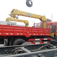 3.2T 6.3T 8T 10T 12T Telescoping Boom Truck Crane