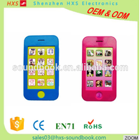 Latest Hot Selling Custom Baby Musical Toy Mobile Phone for Kids