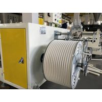 PVC single wall corrugated pipe extrusion machine thumbnail image