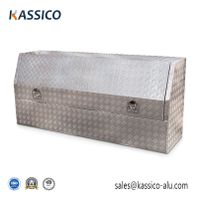 1800mm Aluminum Truck Tool Box for Pickup 3/4 Opening