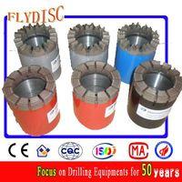 Impregnated diamond core drill bit thumbnail image