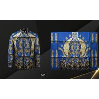 Handmade Prada Silk Batik Fabrics, Style 20