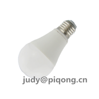 PBT with stamping aluminum 270 degrees A60 5W led bulb housing parts