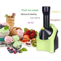 Household fruit ice cream maker, fruit ice-cream machine, Ice crusher