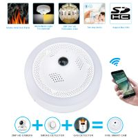 New Technology Fire Smoke/Dangerous Gas Alarm Network CCTV Security WiFi HD IP Camera thumbnail image