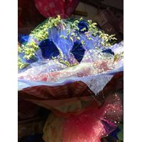deluxe organza fabric for floral products