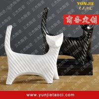 Simple animal shape; ceramic decoration