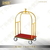 Metal Hotel Trolley For Transporting Luggage