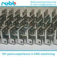 China aluminum alloy guide robot parts CNC machining manufacturers