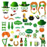 PZ148 New Arrival St Patricks Day party photo booth props