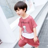 2019 Hot Sale In-stock Items comfortable kids t shirts small moq thumbnail image