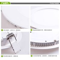 round led panel light 9W with factory direct wholesale
