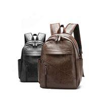 PU Leather Material Backpack Large Capacity Bagpack