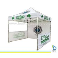 Hexagonal aliminum frame pop up trade show tent