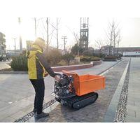 QTP500N Brand 500kg load hydraulic mini dumper crawler 6.5hp machine thumbnail image