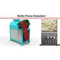 Fertilizer double roller granulator - installation and commissioning