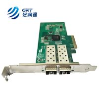 F902E 1000Mb Dual-port Fiber Optic SFP Bypass Network Adapter Card