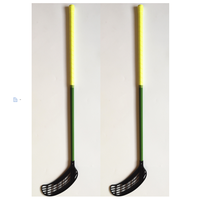 Floorball Sticks IFF Standard OEM Factory Fiberglass Shaft or Carbon Fiber Shaft