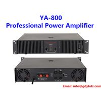 800W two channels class H professional audio amplifier karaoke room amplifier