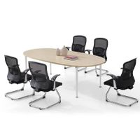 Dious fashion contracted original oak color melamine conference table