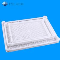 Meat and seafood quick frozen plastic tray for sale