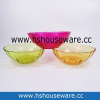 Color Glass Bowl