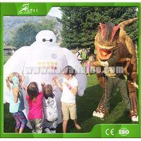 KAWAH Dinosaur Prank Equipment Allosaurus Moving Realistic Dinosaur Costume for sale thumbnail image