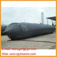 Natual Rubber Fabric Layer Floating Dock Inflatable Launching Airbag