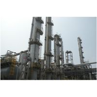 Crude methanol refinery technology