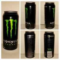 Monster 500 ml Ripper, Energy, Assault, Abs Zero, Doctor