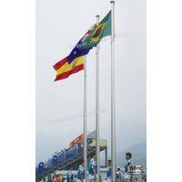 Aluminum External Halyard Flagpole