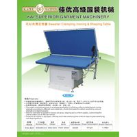 KAI-42A sweater clamping,ironing and shaping table
