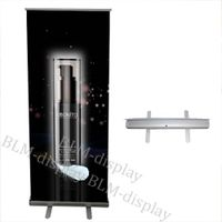 Hot sale!Free shipping BLM-1118 Single standard Printed Pull up banners