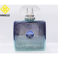 100ml empty perfume glass bottle with surlyn cap