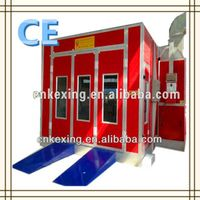 car spray oven bake booth