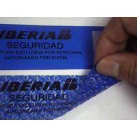 non-transfer holographic labels/hologram label