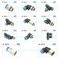 One touch tube fittings pneumatic fittings