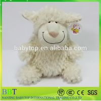 Selling Small Sheep Shape Super Soft Plush Animal Backpack For Baby