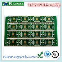 Black color coating 1.6mm Aluminum pcb for led assembly thumbnail image