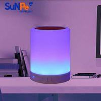 bluetooth speaker with LED colorful light