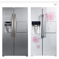 Side-by-side Large Capacity refrigerator with Ice Maker