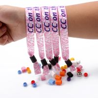 Hot sale cheap customized wristbands for event/ribbon wristband with sublimation serial-number thumbnail image