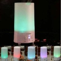 New cylindrical mist Humidifier water humidifier Purifier Aroma Diffuser