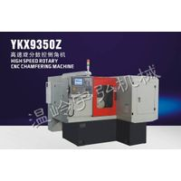 High speed rotary CNC chamfering machine