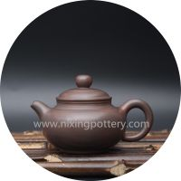 Miniature Antique Pot Qinzhou Nixing Pottery Pure Handmade Nixing Pot 100cc Small Teapot thumbnail image